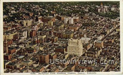 Buisness District - Denver, Colorado CO Postcard