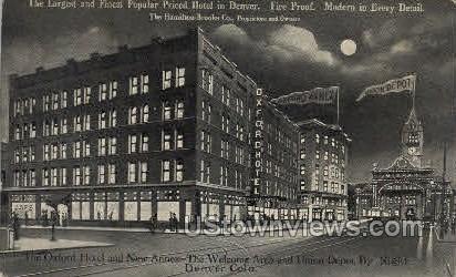 The Oxford Hotel  - Denver, Colorado CO Postcard