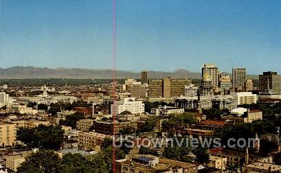 The Mile High City - Denver, Colorado CO Postcard