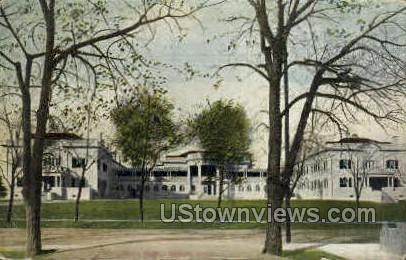 The Oaks Home - Denver, Colorado CO Postcard