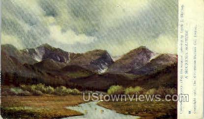 A Mountain Solitude - Denver, Colorado CO Postcard