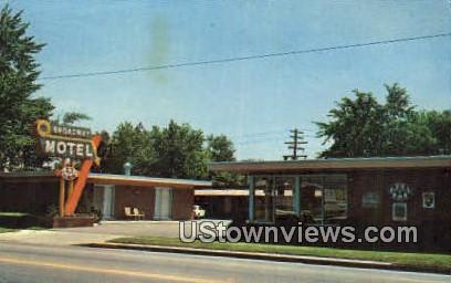 Broadway Motel - Denver, Colorado CO Postcard