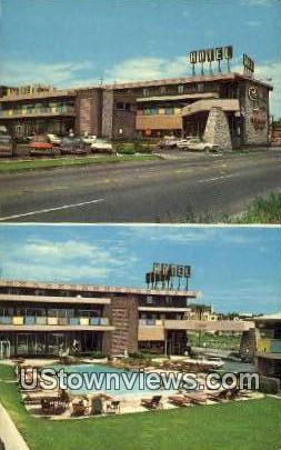 Continental Denver Hotel - Colorado CO Postcard