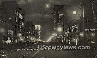 15th Street - Denver, Colorado CO Postcard