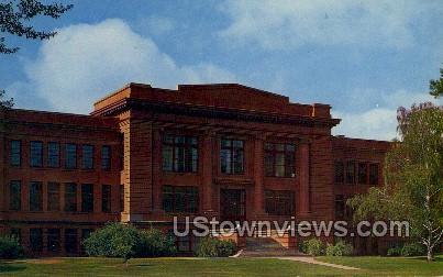 Kepner Hall  - Greeley, Colorado CO Postcard