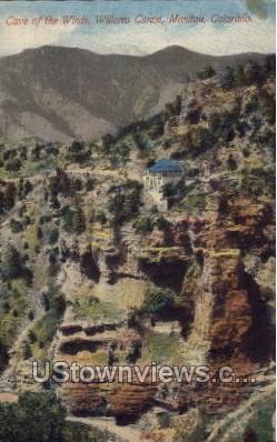 Cave of the Winds Williams Canon - Manitou, Colorado CO Postcard