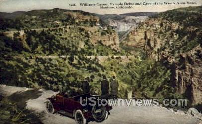 Williams Canon - Manitou, Colorado CO Postcard
