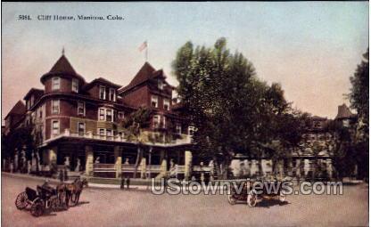 Cliff House - Manitou, Colorado CO Postcard