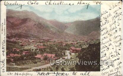 Base of Pikes Peak - Manitou, Colorado CO Postcard