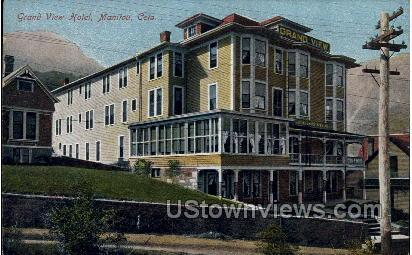 Grand View Hotel - Manitou, Colorado CO Postcard