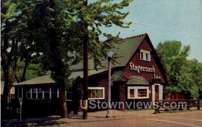 StageCoach Inn - Manitou, Colorado CO Postcard
