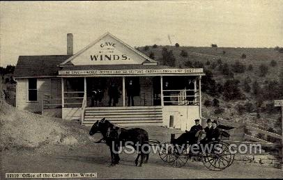Office at Cave of The Winds - Manitou, Colorado CO Postcard