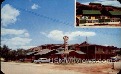 Western Motel - Manitou, Colorado CO Postcard