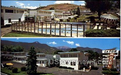 La Fon Motel - Manitou, Colorado CO Postcard
