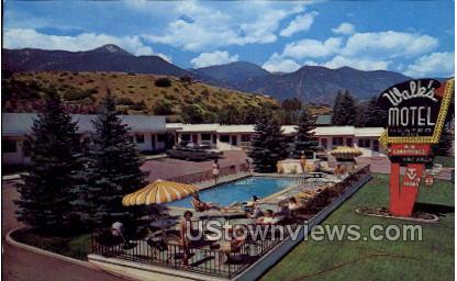 Walks Motel - Manitou, Colorado CO Postcard