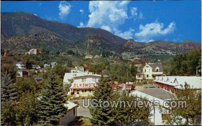 Elko Mote - Manitou, Colorado CO Postcard