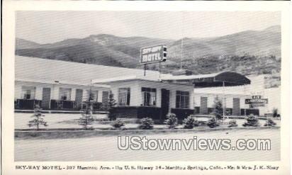 Sky-Way Motel - Manitou, Colorado CO Postcard