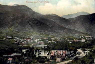 Pikes Peak - Manitou, Colorado CO Postcard