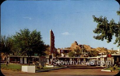 Red Wings Motel - Manitou, Colorado CO Postcard