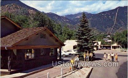 Villa Motel  - Manitou, Colorado CO Postcard