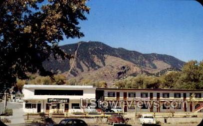 Foothills Lodge - Manitou, Colorado CO Postcard