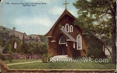 Church of Our Lady of Perpetual Help - Manitou, Colorado CO Postcard