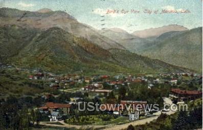 Birds Eye View  - Manitou, Colorado CO Postcard