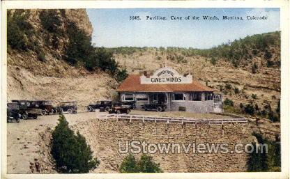 Pavilion, Cave of The Winds - Manitou, Colorado CO Postcard