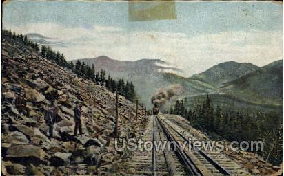 Timberline on The Pikes Peak Cog Road - Manitou, Colorado CO Postcard