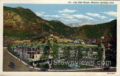 The Cliff House  - Manitou, Colorado CO Postcard