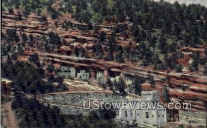Ancient Cliff Dwellings - Manitou, Colorado CO Postcard
