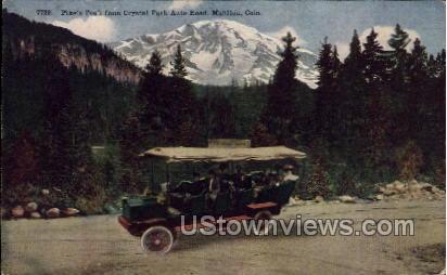 Pikes Peak from Mount Manitou Park - Colorado CO Postcard