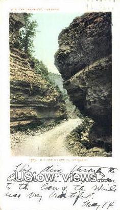 William's Canyon - Manitou, Colorado CO Postcard
