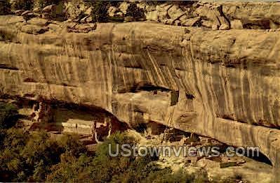 Cliff Palace - Mesa Verde Park, Colorado CO Postcard