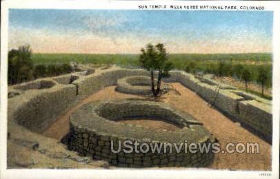Mesa Verde National Park - Mesa Verde Park, Colorado CO Postcard