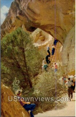 Balcony House Ruins - Mesa Verde Park, Colorado CO Postcard