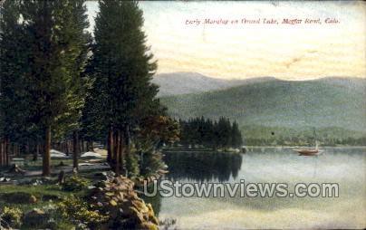 Early Morning on GrandLake - Moffat Road, Colorado CO Postcard