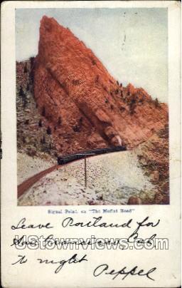 Signal Point - Moffat Road, Colorado CO Postcard