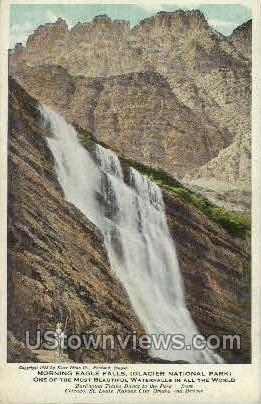 Morning Eagle Falls - Misc, Colorado CO Postcard
