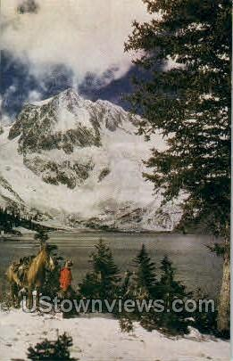 Snowmass Lake and Capitol Peak - Misc, Colorado CO Postcard