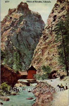 Pillars of Hercules - Misc, Colorado CO Postcard