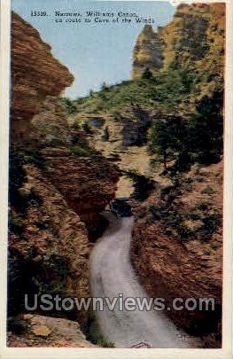 The Narrows, Williams Canon - Misc, Colorado CO Postcard