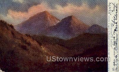 Sunset in Colorado - Misc Postcard