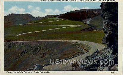 Chipita Park - Misc, Colorado CO Postcard