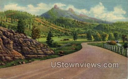 Chimney Rock - Misc, Colorado CO Postcard
