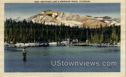 Braynard Lake and Arapahoe Peaks - Misc, Colorado CO Postcard