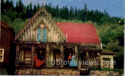 The lace House, Blackhawk - Misc, Colorado CO Postcard