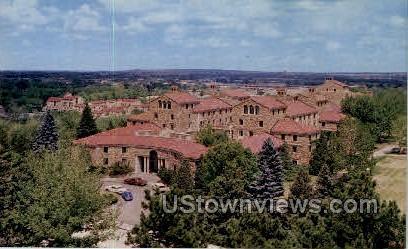 Sewall Hall, University of Colorado - Misc Postcard
