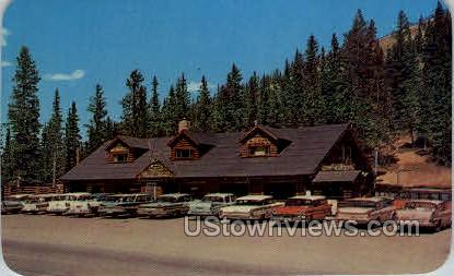 Monarch Crest House at the Summit of Monarch Pass - Misc, Colorado CO Postcard