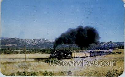 Narrow Gauge Railroads - Misc, Colorado CO Postcard